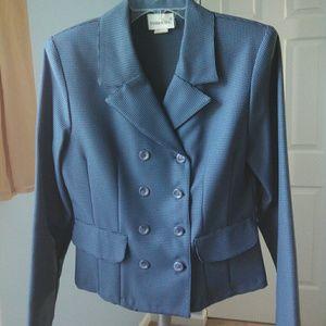 Vintage 1990s Fashion Bug Houndstooth Suit Jacket